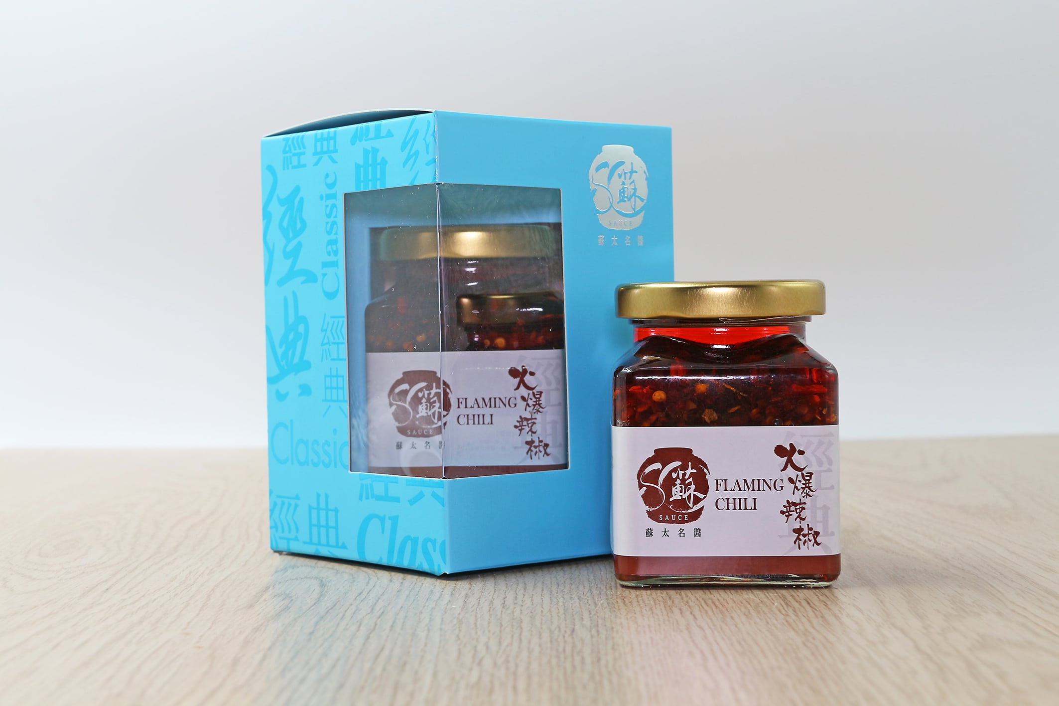 蘇火爆辣椒醬 (190克)