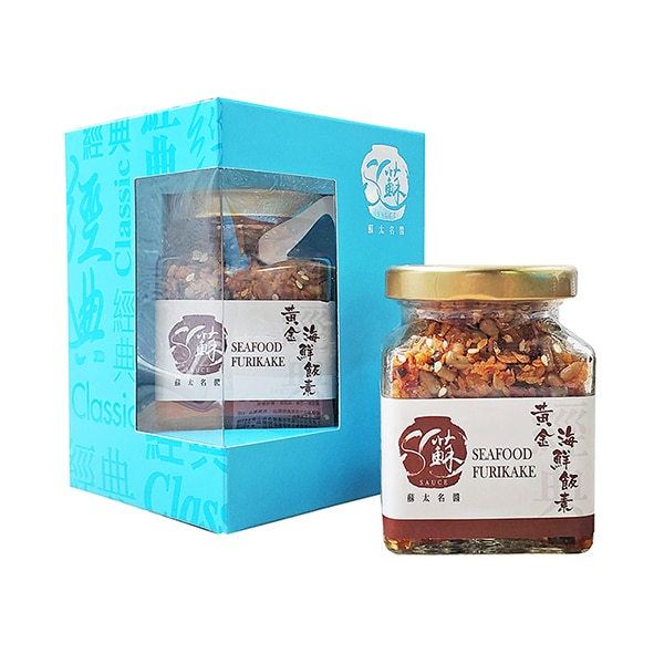 黃金海鮮飯素 (100克)