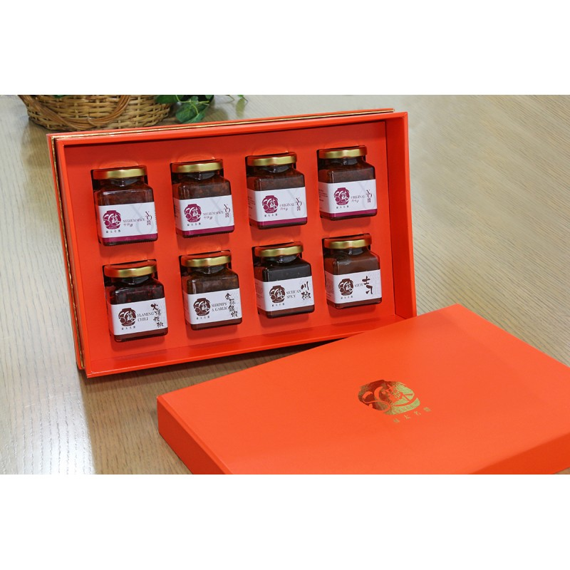 殿堂級賀禮 (任選8瓶190g醬料)(吉盒)
